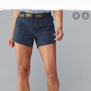 NF navy blue flash dry hiking shorts